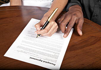 prenuptial agreement,divorce,marriage