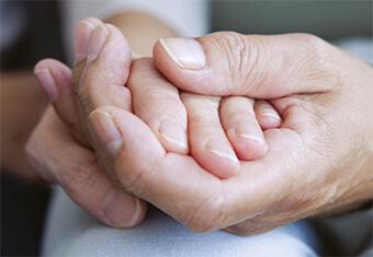 comforting following bereavement